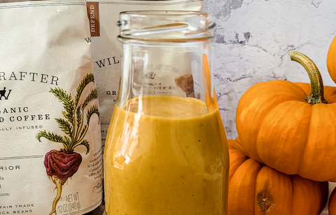 Healthy Homemade Pumpkin Spice Coffee Creamer Recipe