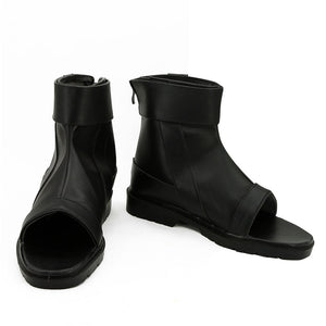 Anbu's Itachi Uchiha from Naruto Halloween Black Cosplay Shoes