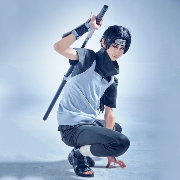 Anbu's Itachi Uchiha from Naruto Halloween Cosplay Costume