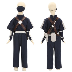 Child Size Kids Size Young Kakashi Hatake from Naruto Halloween Cosplay Costume