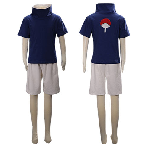Child Size Kids Size Young Sasuke Uchiha from Naruto Halloween Cosplay Costume