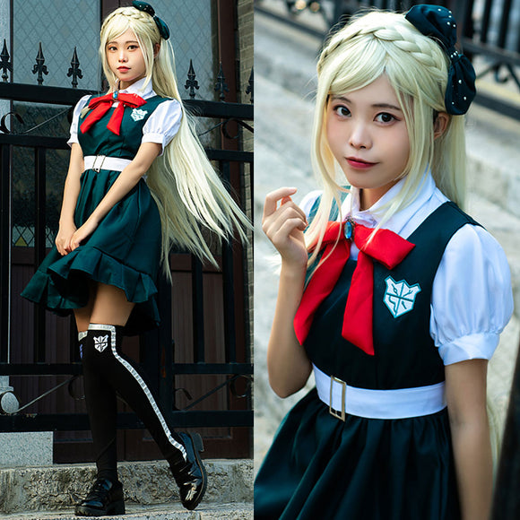 Danganronpa 2: Goodbye Despair Dangan Ronpa Sonia Nevermind Halloween Cosplay Costume
