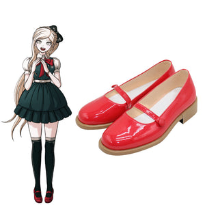 Danganronpa 2: Goodbye Despair Sonia Nevermind Red Cosplay Shoes