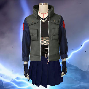 Female Kakashi Hatake from Naruto Halloween Cosplay Costume