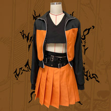 Load image into Gallery viewer, Female Uzumaki Naruto from Naruto Halloween Cosplay Costume