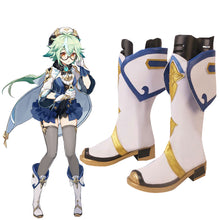 Load image into Gallery viewer, Genshin Impact Sucrose White Shoes Cosplay Boots