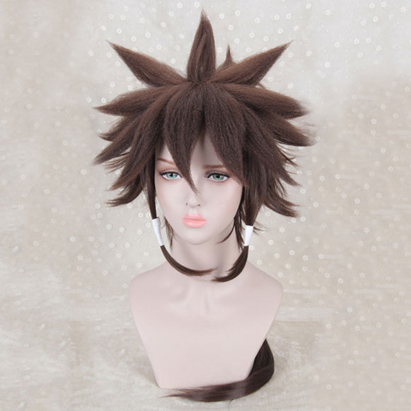 Indora from Naruto Halloween Brown Cosplay Wig