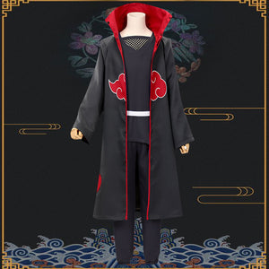 Itachi Uchiha from Naruto Halloween Cosplay Costume - Black Edition