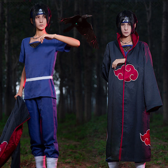 Itachi Uchiha from Naruto Halloween Cosplay Costume