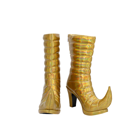 JoJo's Bizarre Adventure Giorno Giovanna Female Golden Cosplay Shoes