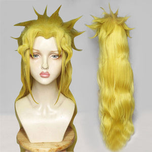JoJo's Bizarre Adventure: Stardust Crusaders Female Dio Brando Golden Cosplay Wig