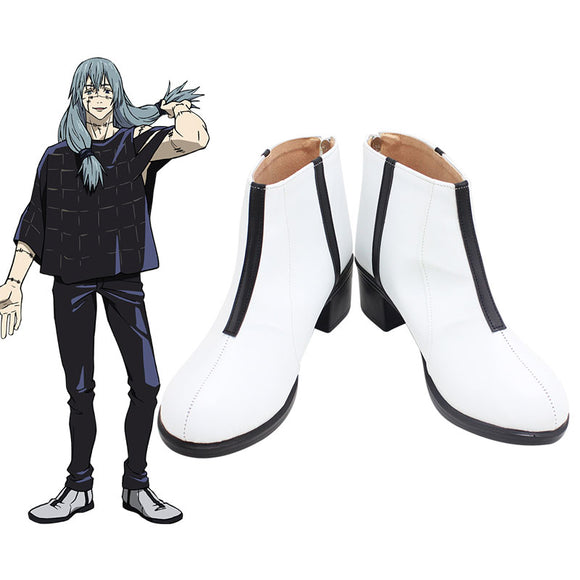 Jujutsu Kaisen Sorcery Fight Mahito White Cosplay Shoes