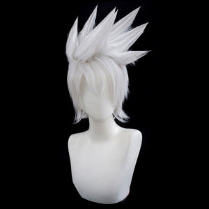 Kakashi Hatake from Naruto Halloween Silver White Cosplay Wig