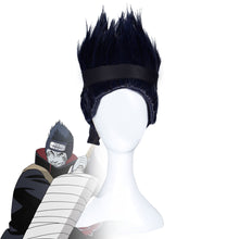 Load image into Gallery viewer, Kisame Hoshigaki from Naruto Halloween Black Blue Cosplay Wig