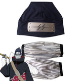 Kisame Hoshigaki from Naruto Halloween Sleeves and Headband Cosplay Accessory Prop