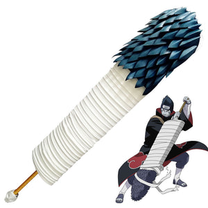 Kisame Hoshigaki from Naruto Halloween from Naruto Halloween Samehada Sword Cosplay Weapon Prop