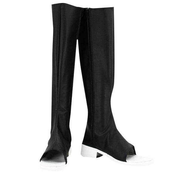 Konan from Naruto Halloween Black Shoes Cosplay Boots