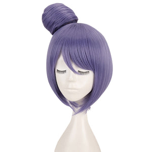 Konan from Naruto Purple Cosplay Wig