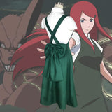 Kushina Uzumaki from Naruto Halloween Cosplay Costume