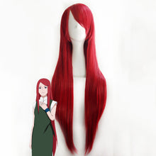Load image into Gallery viewer, Kushina Uzumaki from Naruto Halloween Red Wine Cosplay Wig