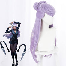 Load image into Gallery viewer, League Of Legends LOL 2020 KDA K/DA Evelynn Purple Cosplay Wig