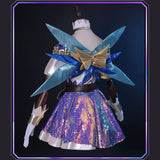 League Of Legends LOL The Starry-Eyed Songstress Seraphine Cosplay Costume