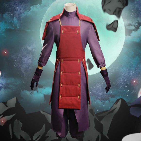 Madara Uchiha from Naruto Halloween Cosplay Costume