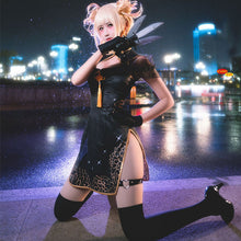 Load image into Gallery viewer, My Hero Academia Boku no Hero Akademia Himiko Toga Cheongsam Halloween Cosplay Costume