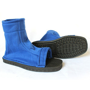 Naruto Konoha Halloween Blue Cosplay Shoes
