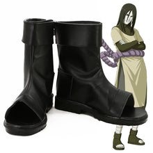 Load image into Gallery viewer, Orochimaru from Naruto Halloween Black Cosplay Shoes