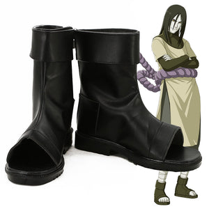 Orochimaru from Naruto Halloween Black Cosplay Shoes