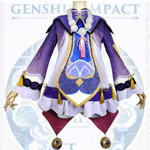 Load image into Gallery viewer, Qiqi from Genshin Impact Halloween Cosplay Costume