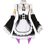 Re: Life In A Different World From Zero Rem Cosplay Costume