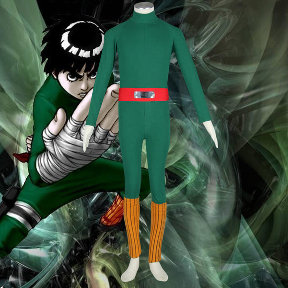 Rock Lee from Naruto Halloween Cosplay Costume