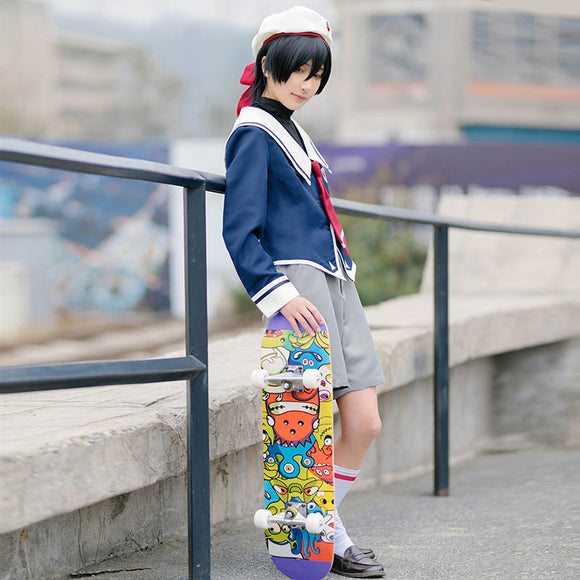 SK8 the Infinity SK¡Þ Miya School Uniforms Cosplay Costume
