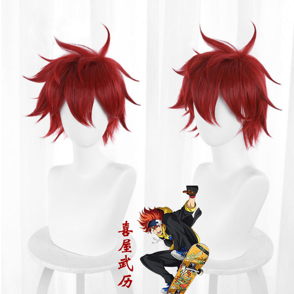 SK8 the Infinity SK¡Þ Reki Red Cosplay Wig