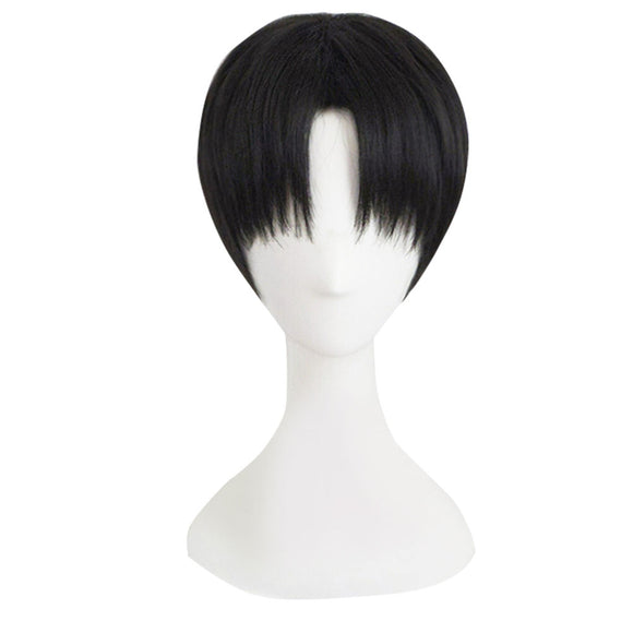 Sai from Naruto Halloween Black Cosplay Wig