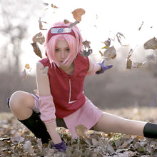 Load image into Gallery viewer, Sakura Haruno from Naruto Halloween Cosplay Costume