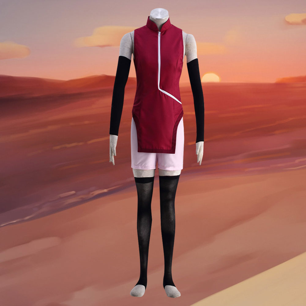 Sarada Uchiha from Boruto Naruto Halloween Cosplay Costume