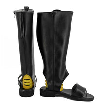 Load image into Gallery viewer, Sasuke Uchiha from Naruto Halloween Black Shoes Cosplay Boots