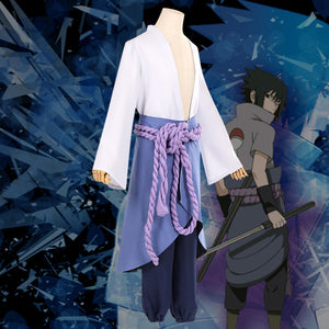 Sasuke Uchiha from Naruto Halloween Cosplay Costume - B Edition