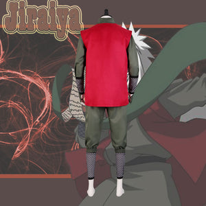 Shippuuden Jiraiya from Naruto Halloween Cosplay Costume