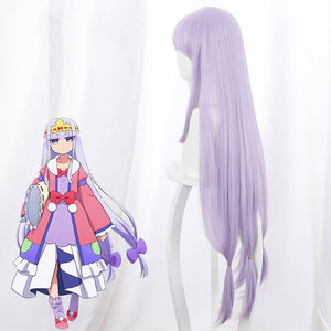 Sleepy Princess in the Demon Castle Princess Syalis Halloween Purple Cosplay Wig