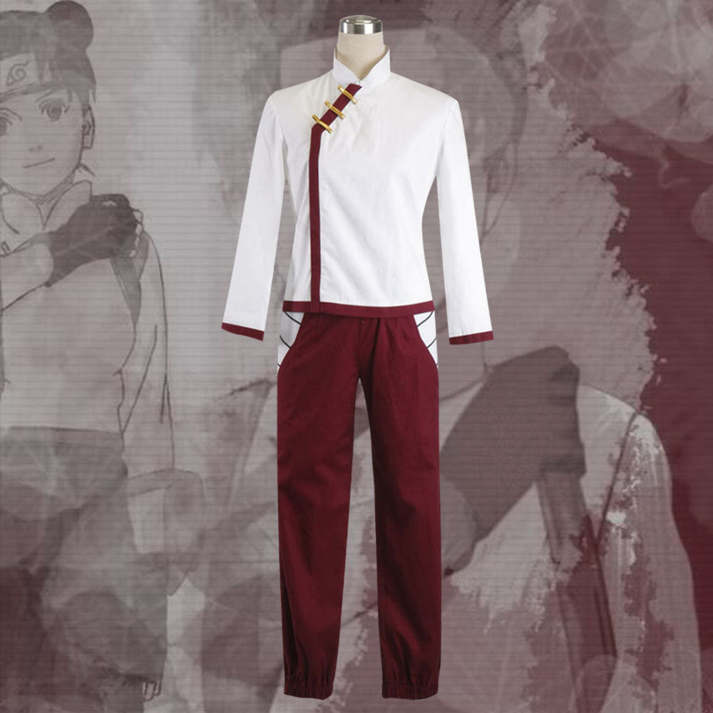 Tenten from Naruto Halloween Cosplay Costume