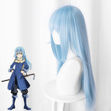 That Time I Got Reincarnated as a Slime Tensei Shitara Suraimu Datta Ken Rimuru Tempest Blue Cosplay Wig