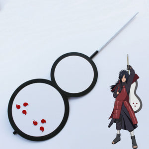 Uchiha Madara from Naruto Halloween Fan Cosplay Weapon Prop