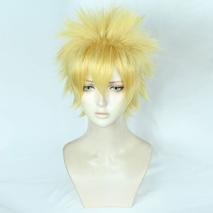 Uzumaki Naruto from Naruto Halloween Golden Cosplay Wig