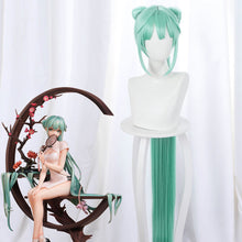 Load image into Gallery viewer, Vocaloid Hatsune Miku Shaohua Cheongsam Halloween Green Cosplay Wig