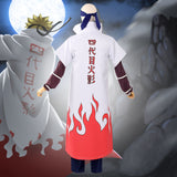 Yondaime 4th Hokage Minato Namikaze from Naruto Halloween Cosplay Costume