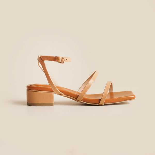 Agatha Heels | Brown